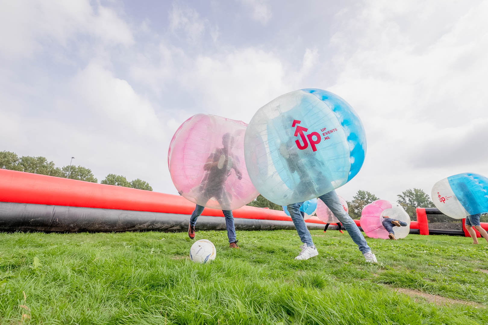 Bubbel Voetbal Kinderfeestje Amsterdam