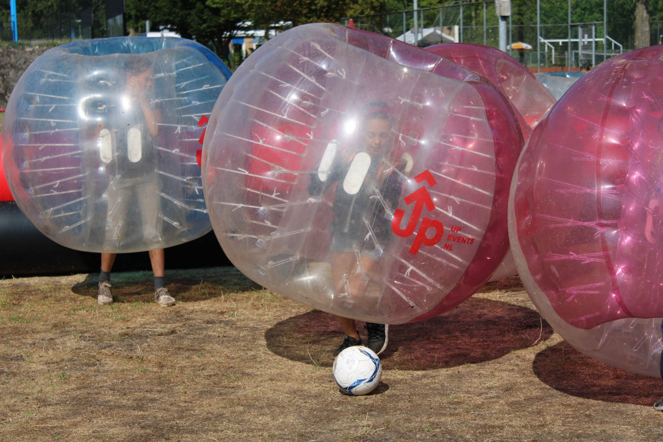 Bubble Football Children's Party