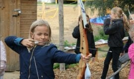 Archery Children's party