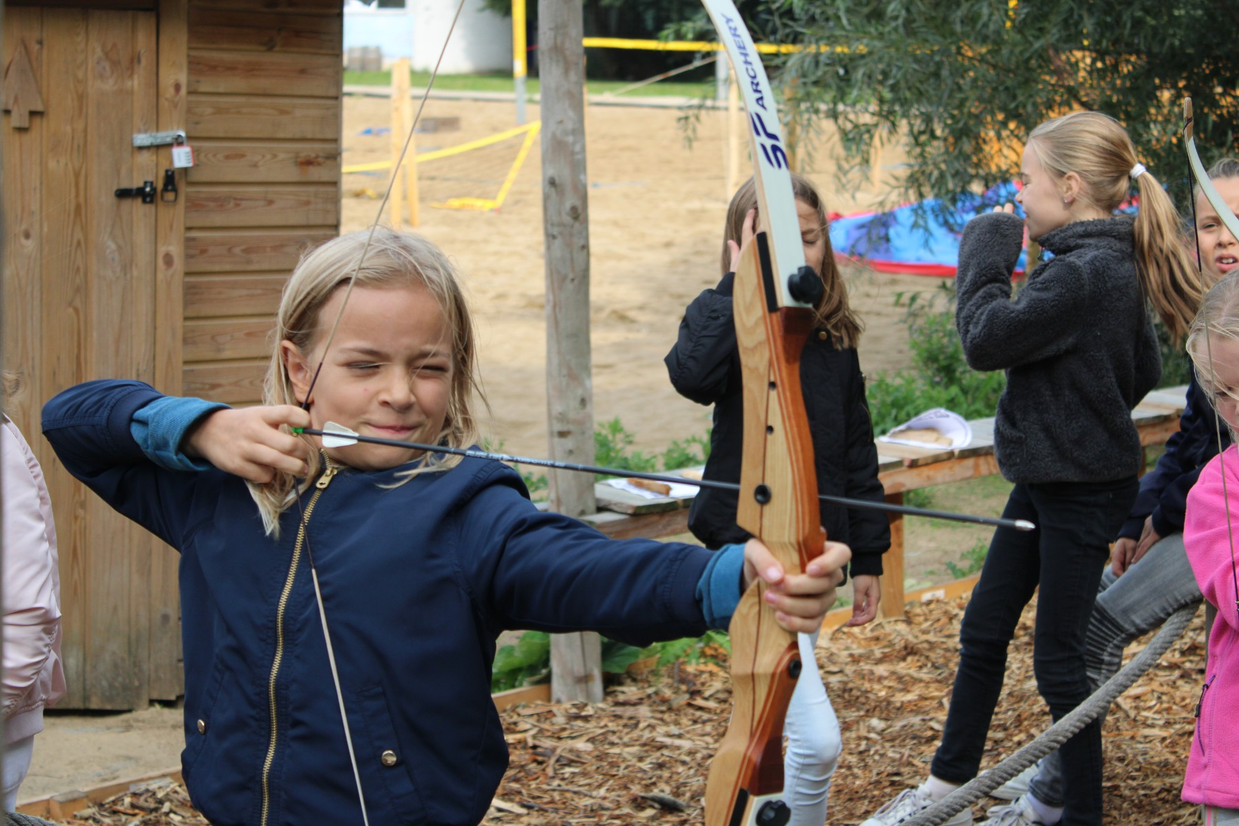 Archery Children's party