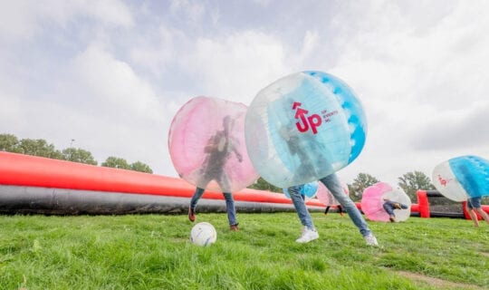Kids Birthday Bubble Football
